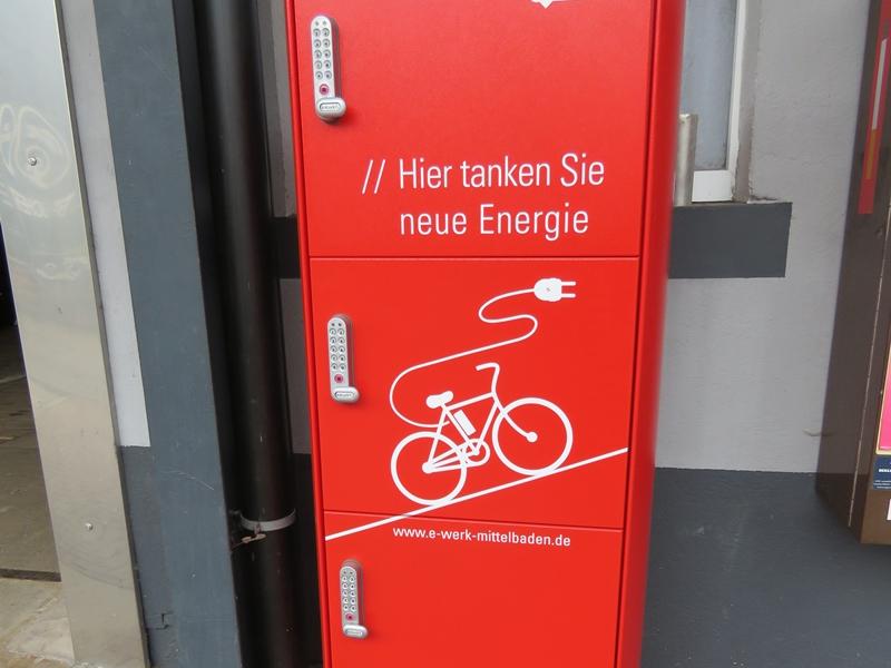 E-Bike Tankstelle Brucher Oberharmersbach