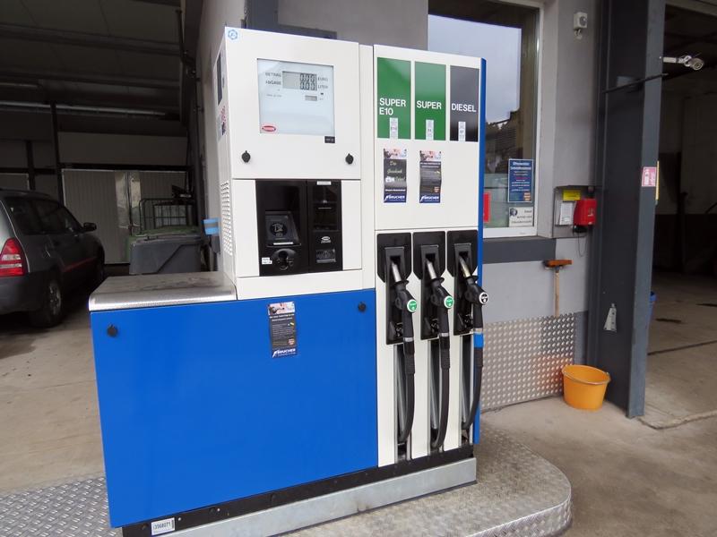 Tankstelle Brucher in Oberharmersbach